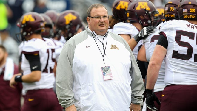 Minnesota coach Tracy Claeys has guided the Golden Gophers to an 8-4 record in his first season as the head coach and kept his team together through multiple suspensions and a two-day boycott that threatened its participation in the Holiday Bowl against Washington State.