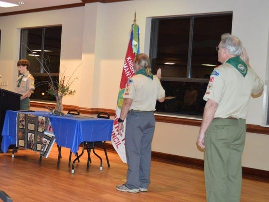 Scoutmasters, past & present, of Troop 74 were the