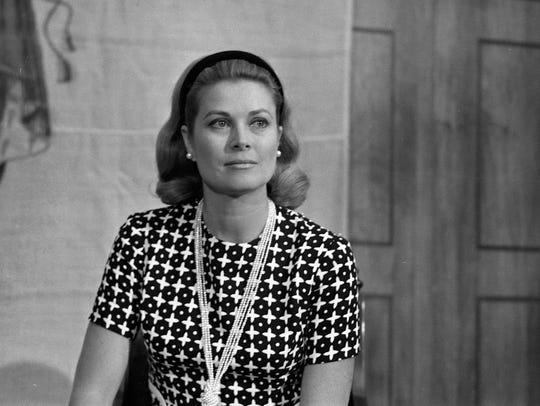 Grace Kelly, Princess Grace of Monaco, poses for a