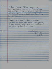 Local children submitted their letters to Santa Claus to The Jackson Sun this year.
