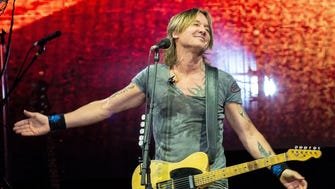 Keith Urban performs Saturday at Ruoff Home Mortgage Music Center.