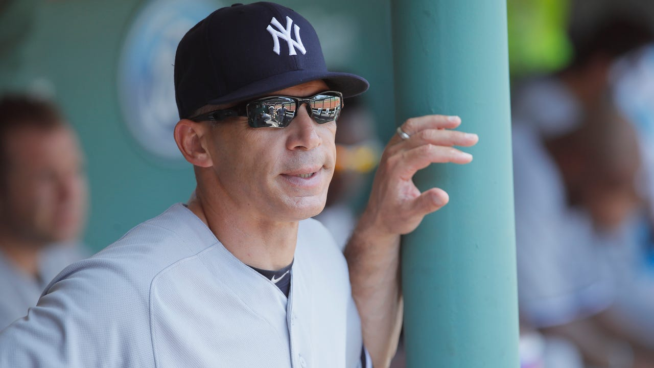 Yankees manager Joe Girardi talks about infielder Starlin Castro's hamstring injury, which put him back on the disabled list, Saturday, July 22, 2017.