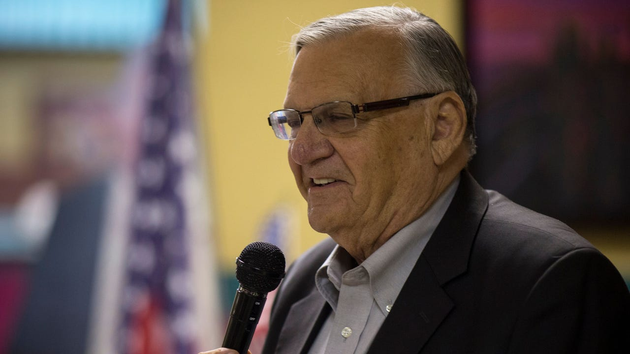 Former Arizona Sheriff Joe Arpaio has collected enough signatures to get his name on the ballot to run in the race to succeed retiring U.S. Sen. Jeff Flake. The controversial Republican lawman faces two GOP challengers in the Aug. 28 primary. (May 22)