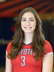 Kara Spicer, from Peoria Centennial, is azcentral sports' Arizona Sports Awards Female Athlete of the Week, presented by La-Z-Boy Furniture Galleries, for Nov. 17-24.