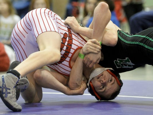 Bermudian Springs' Austin Clabaugh (31-2) is a returning Southeast regional qualifier. He will wrestle in the Class AA sectional at Susquenita on Saturday.