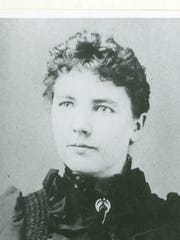 Laura Ingalls Wilder at age 27.