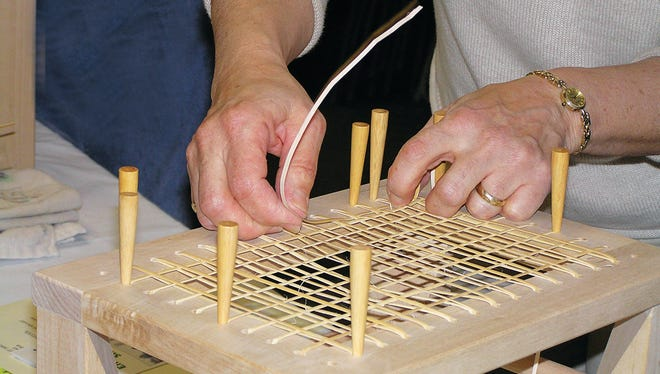 The craft of hand caning will be taught in a Renfrew Institute three-part workshop in March.