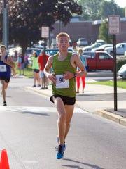 Matt Wisner of Carlisle won the men's race at the 13th