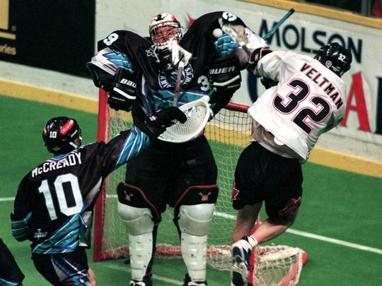 Pat McCready was one of the most rugged players in the history of the National Lacrosse League.