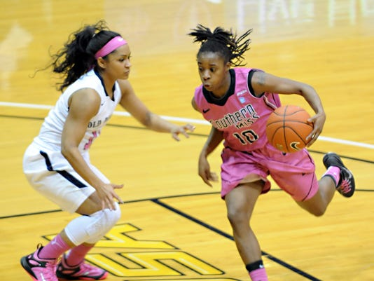 USM Lady Eagles Play Old Dominion Basketball | Gallery