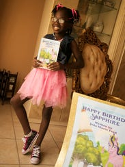 Fort Myers resident Jada Ford, 9, has written a book