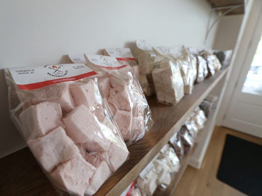 Gourmet marshmallows for sale at Hudson Valley Marshmallow