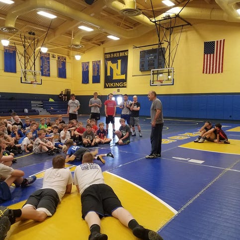 Youth wrestling camp a big hit at Northern Lebanon