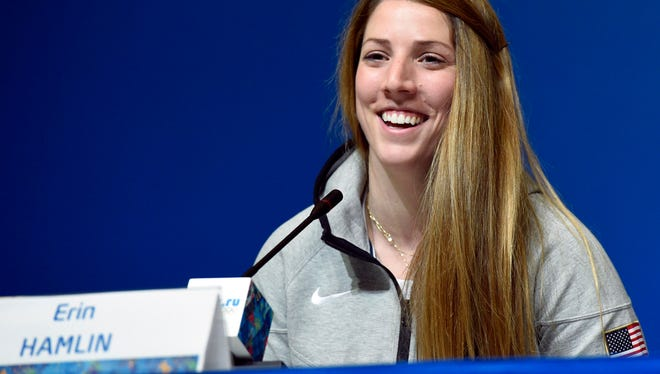 USA's Erin Hamlin, who made history in the luge, says all the hard work and sacrifice has paid off.