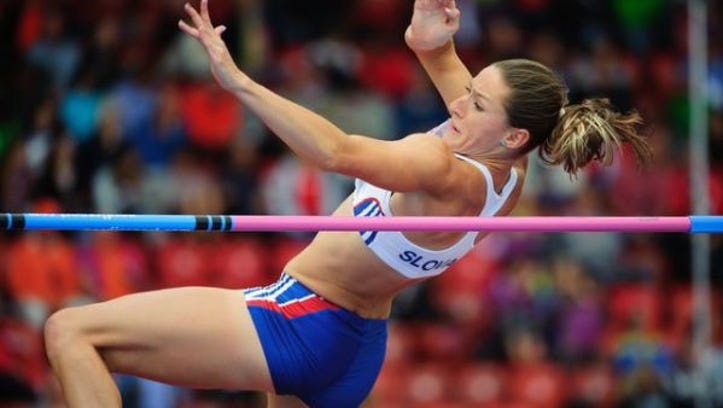 Lucia Mokrasova is will be competing in the pentathlon for the UTEP track team.