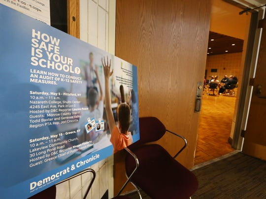 The K-12 School Safety forum held Saturday, May 5,