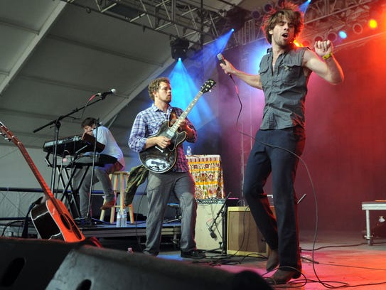 The Dirty Guv'nahs perform in This Tent during the 11th annual Bonnaroo Music and Arts Festival in Manchester, Tenn., Thursday, June 7, 2012.