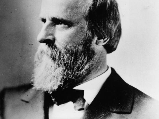 Rutherford B. Hayes, the 19th president of the United States of America, is seen in this undated photograph.