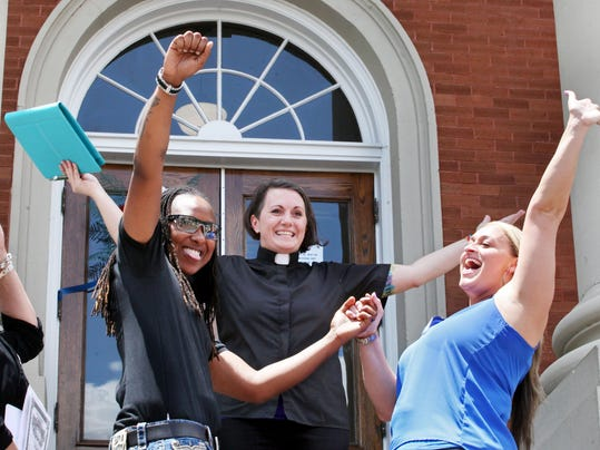 Same-sex marriage at Forrest County Courthouse | Gallery