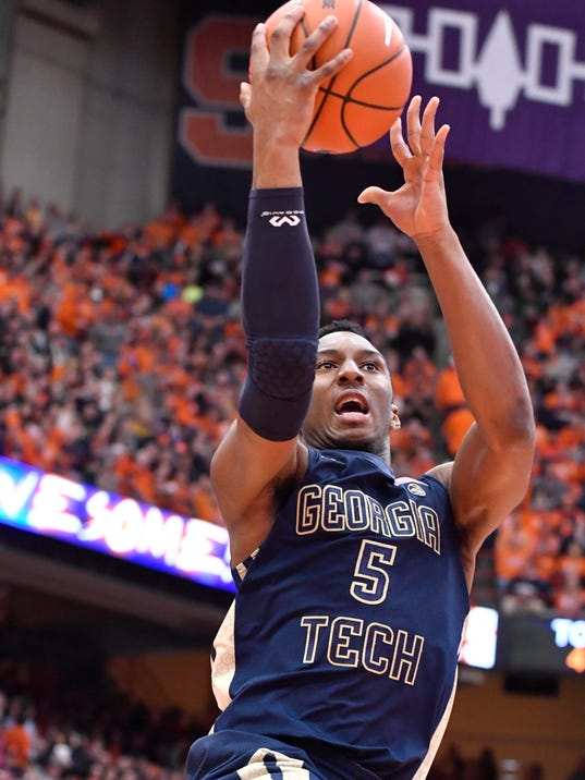 NCAA Basketball: Georgia Tech at Syracuse