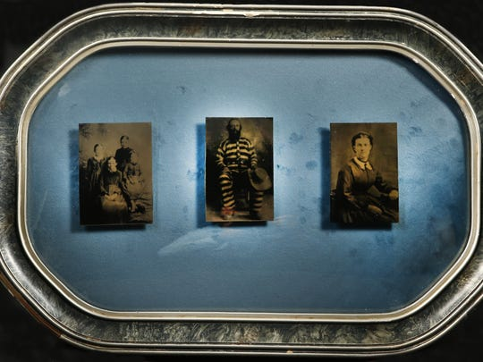 Jane Lindsay created the triptych that depicts William
