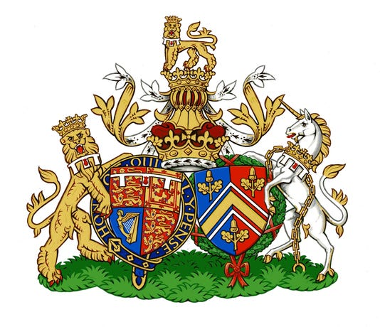 coat of arms will kate