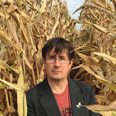 "John Darnielle's new novel, ""Universal Harvester,"""