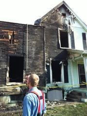 Indiana State Police Senior Trooper Joseph Winters entered this burning house three times on April 10, 2014, saving three lives. He will receive a national award for his heroism on Monday.
