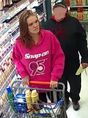 Police want to identify the woman in this photograph. Police said she and another woman are wanted in connection with a retail theft at the Walmart in West Manchester Township on Feb. 11.