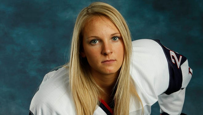 Forward Amanda Kessel had offseason hip surgery and missed the pre-Olympic tour.