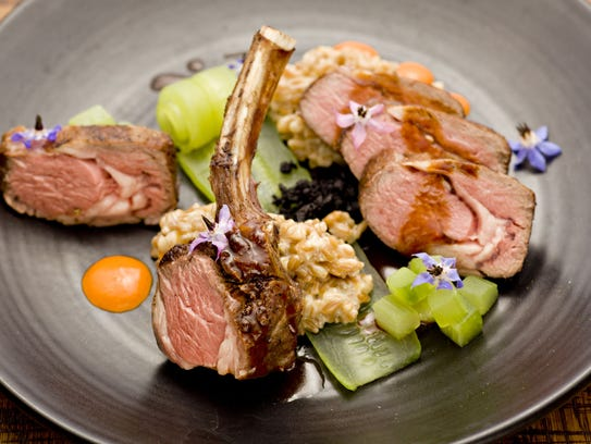The Colorado lamb with cucumber from T. Cooks at the