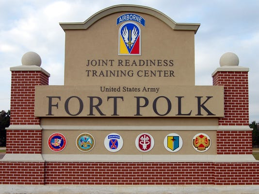 New Fort Polk sign on U.S. Highway 171