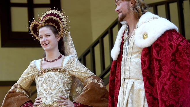 Queen Catherine of Aragon and King Henry VIII are regulars at every Renaissance Faire.