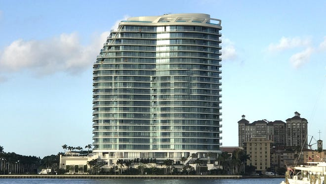 Deeds were recorded this month for two more resale units at The Bristol, the ultra-luxury tower completed last year on the West Palm Beach waterfront. So far, four owners who bought apartments from the building's developer have re-sold them for more than they paid. [DARRELL HOFHEINZ/palmbeachdailynews.com