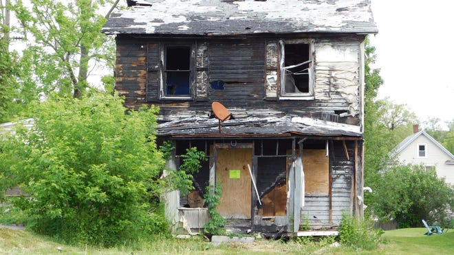 Ilion officials want to demolish a burned-out house on East State Street in the village. The house burned two years ago and the owner had no insurance.