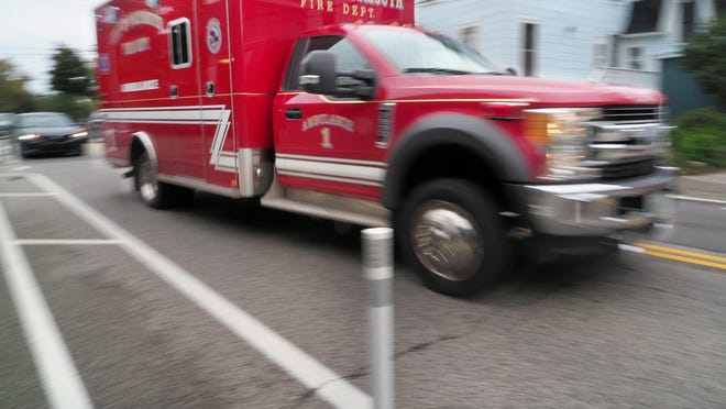 Portsmouth firefighters answered 320 calls for help in September, 228 of them for ambulances, reported Fire Chief Todd Germain.