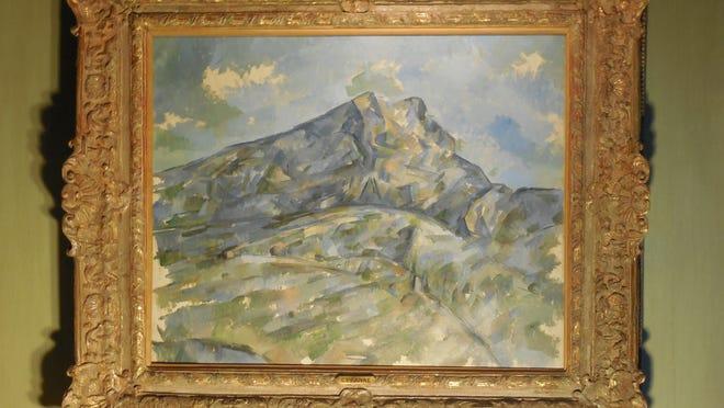 """Paul Cezanne's """"La Montagne Sainte-Victoire vue du bosquet du Chateau Noir"""" (circa 1904) was sold by the Edsel & Eleanor Ford House in 2013 to a private buyer."""