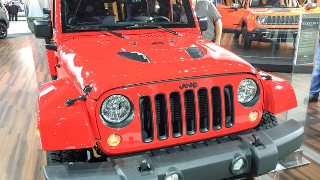 The Jeep Wrangler X Edition isn't the cushiest, but this tough, sexy vehicle will be roaring fun for a trip.