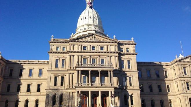 Michigan's state capitol in Lansing.