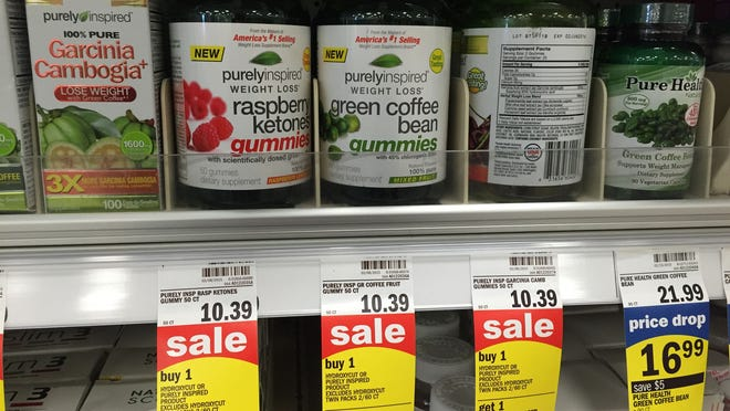 Americans spend nearly $3 million every year on weight-loss and diet supplements like these with green coffee bean extract.