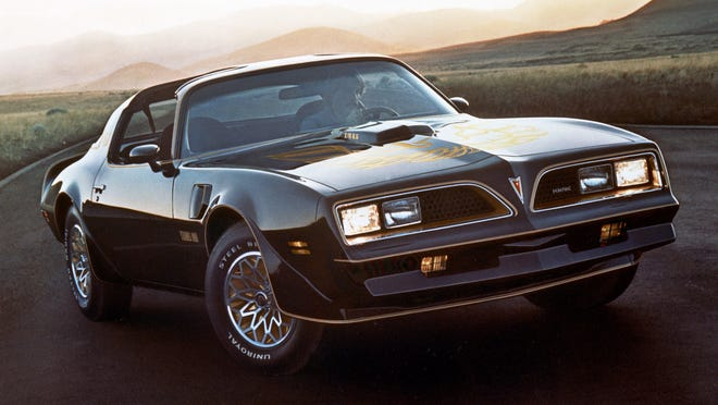 The 1976 Pontiac Firebird Trans Am was famous for its T-Tops, which these days are not in high demand from car shoppers.