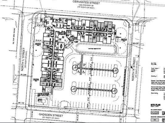 Southport West Cervantes site plan