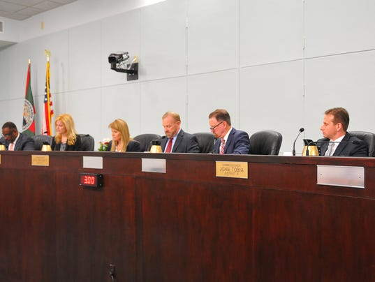 New County Commissioners