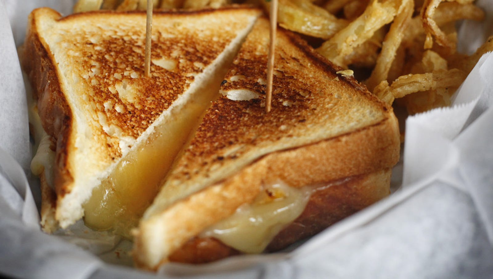 Just a bunch of photos of grilled cheese