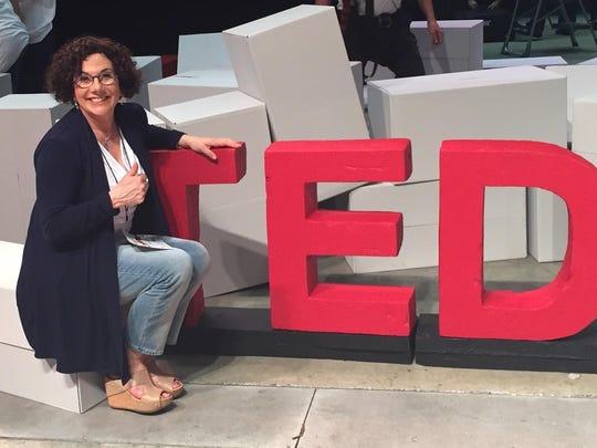 Verona resident Laura Berman Fortgang's TEDx talk debuted in 2015.