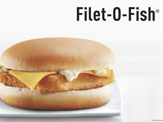 Twenty-fve percent of Filet-O-Fish sandwiches are sold