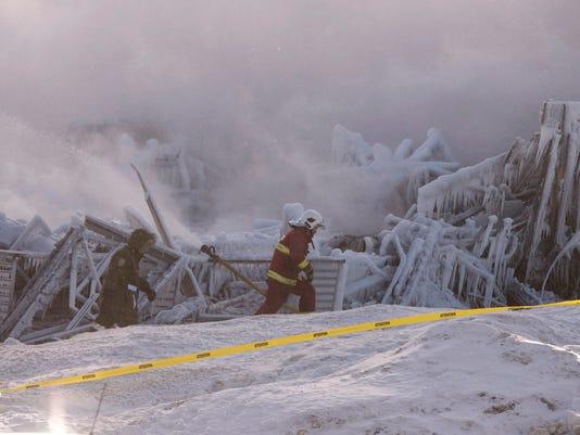 AP Quebec Fire