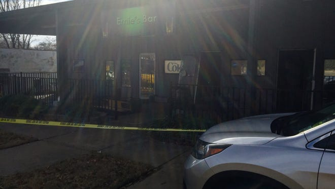 Shreveport firefighters responded to a fire at Ernie's bar in the 200 block of Wall Street Tuesday morning.