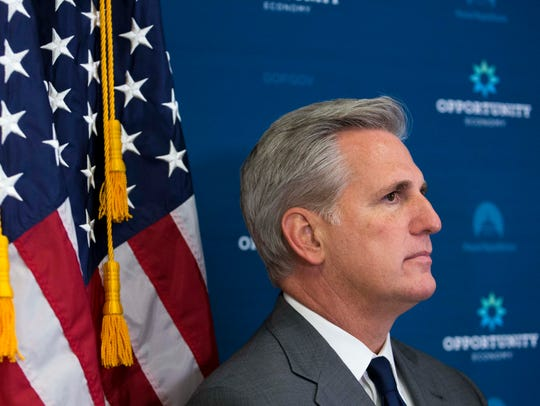 House Majority Leader Kevin McCarthy, R-Calif., is