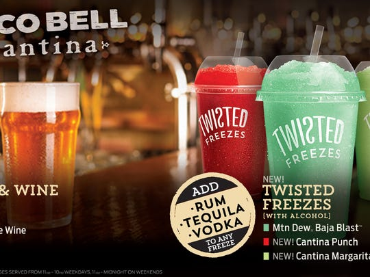 New Taco Bell Cantina restaurants will offer beer,